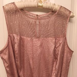 Gorgeous Rose Gold formal dress